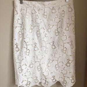 The best white skirt!